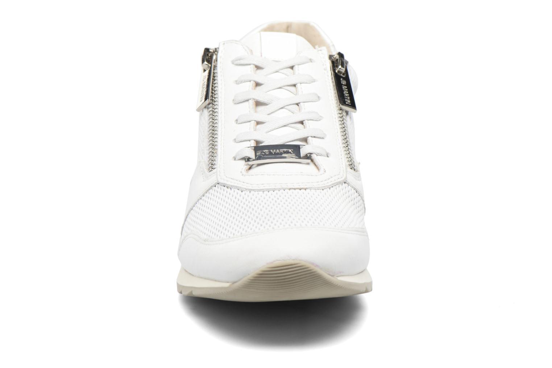 Baskets JB MARTIN 1Veri Blanc vue portées chaussures