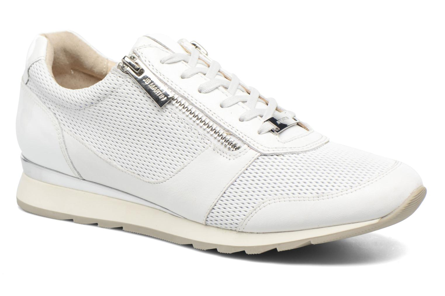 Trainers JB MARTIN 1Veri White detailed view/ Pair view