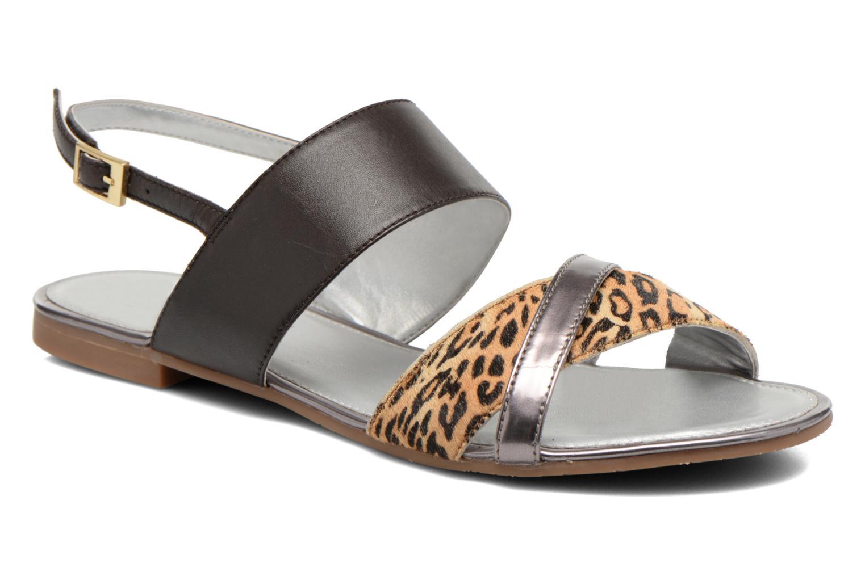 Sandales et nu-pieds JB MARTIN Frabuge Multicolore vue détail/paire