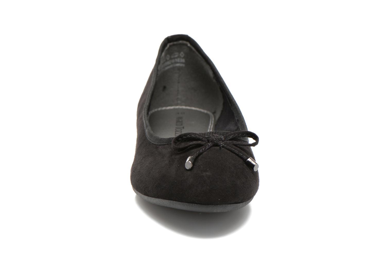 Ballerines Marco Tozzi Maëly 2 Noir vue portées chaussures