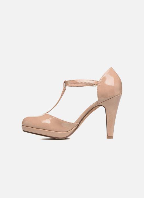 High heels Marco Tozzi Talia Beige front view