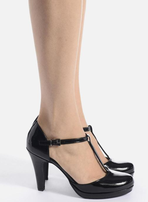 Zapatos de tacón Marco Tozzi Talia Blanco vista de abajo
