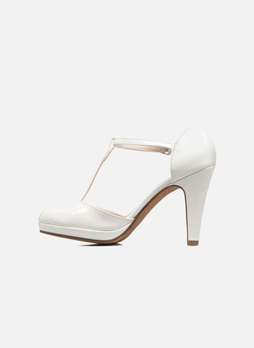 Zapatos de tacón Marco Tozzi Talia Blanco vista de frente