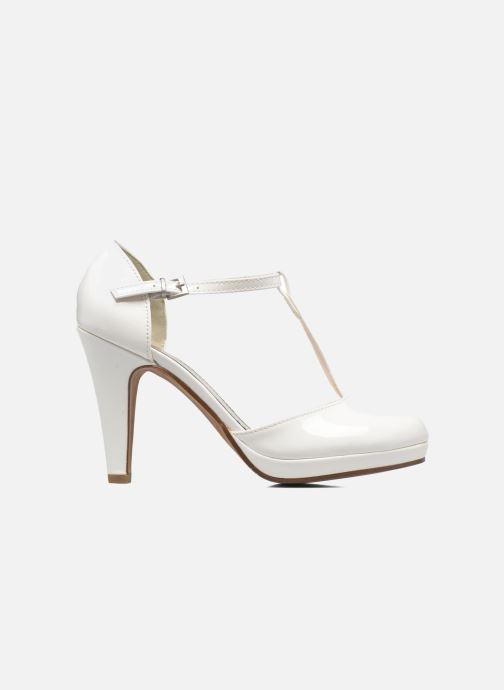 Zapatos de tacón Marco Tozzi Talia Blanco vistra trasera