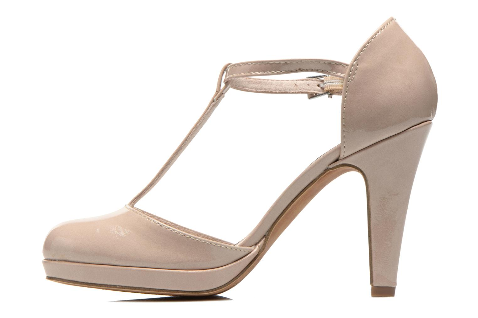 High heels Marco Tozzi Talia Beige front view