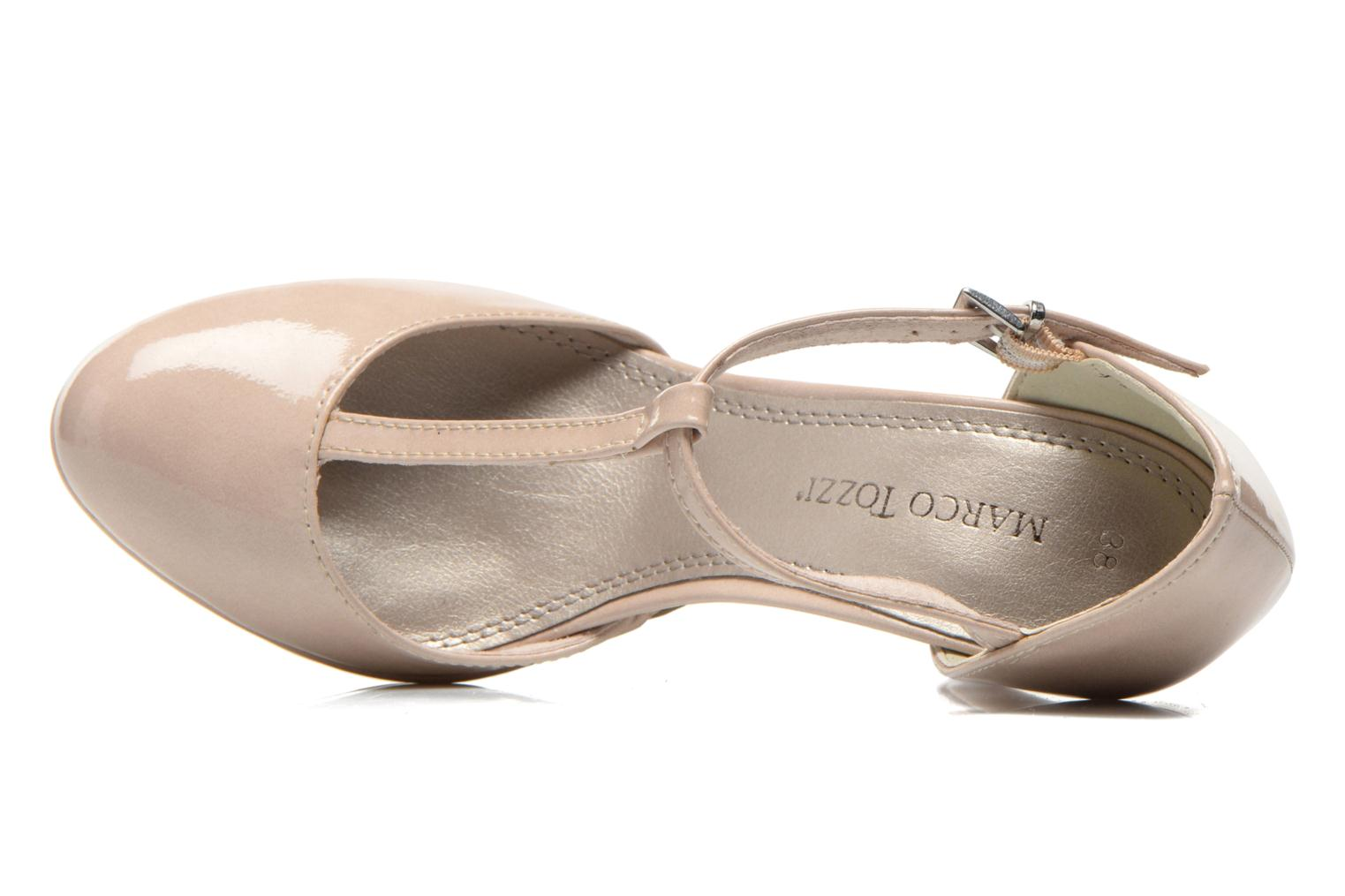 High heels Marco Tozzi Talia Beige view from the left