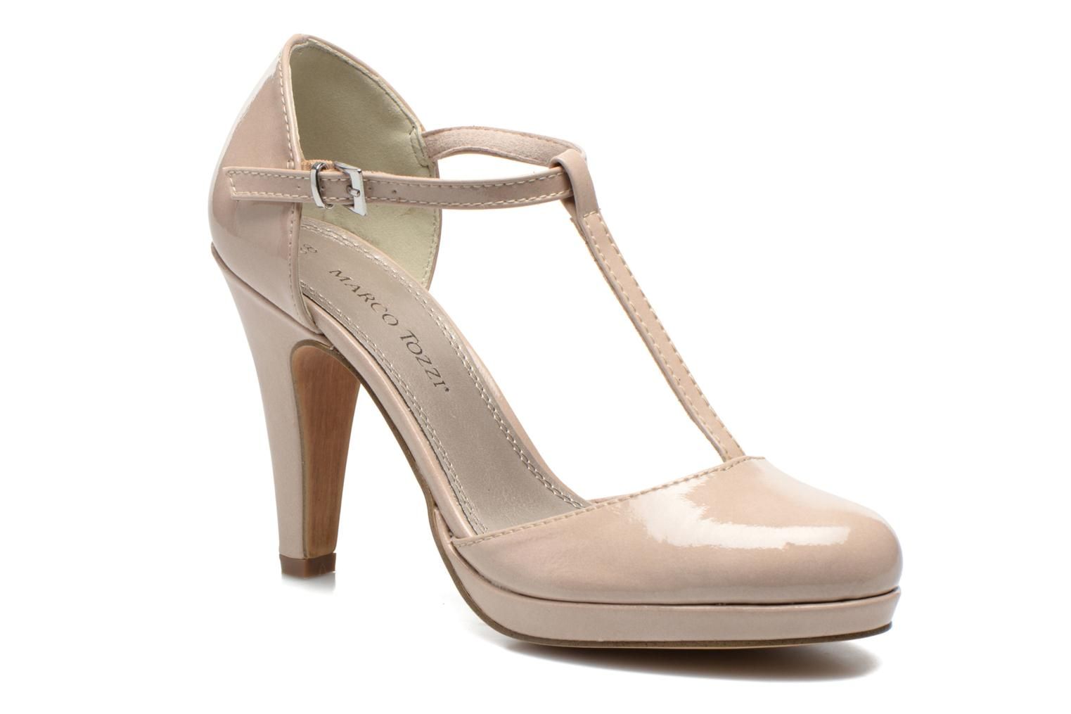 High heels Marco Tozzi Talia Beige detailed view/ Pair view