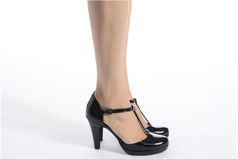 Zapatos de tacón Marco Tozzi Talia Beige vista de abajo