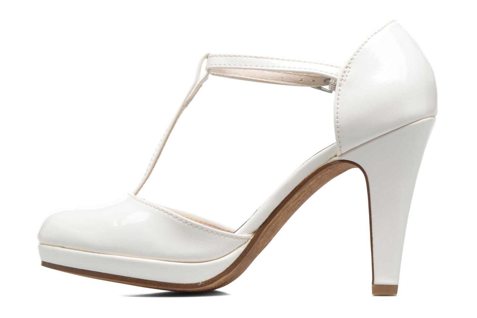 High heels Marco Tozzi Talia White front view