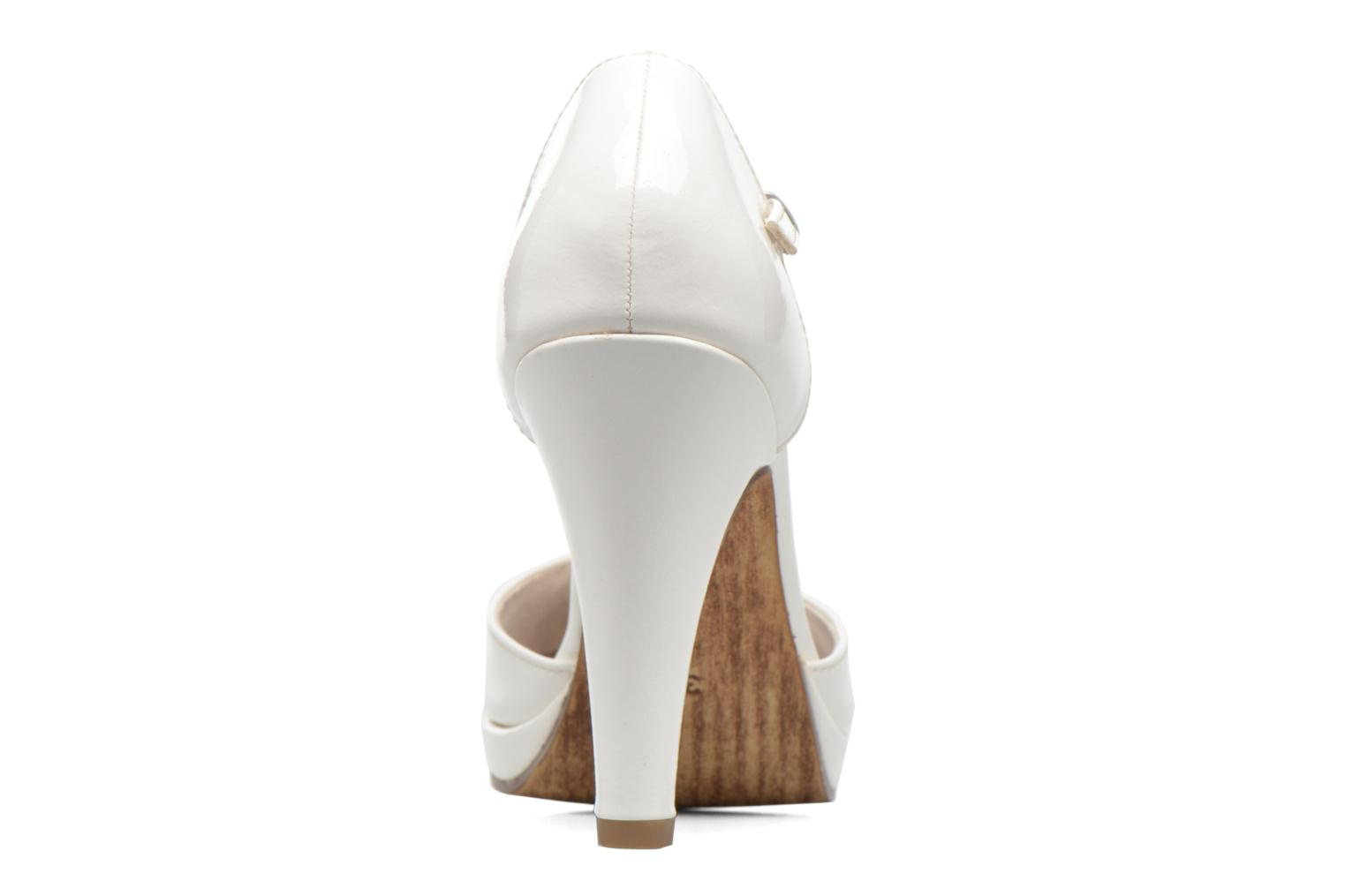 High heels Marco Tozzi Talia White view from the right