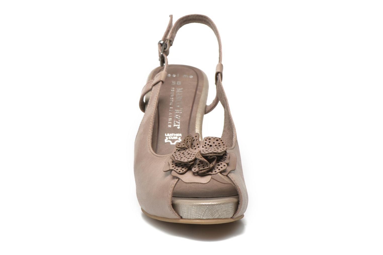 Sandales et nu-pieds Marco Tozzi Polinna 2 Beige vue portées chaussures