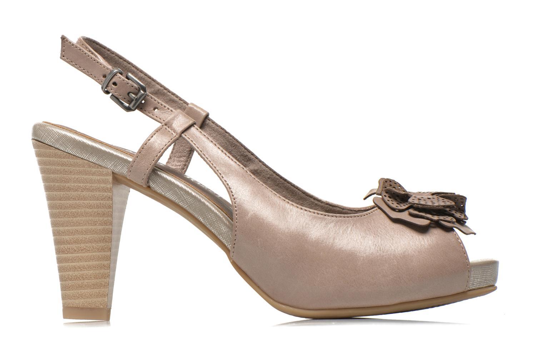 Sandales et nu-pieds Marco Tozzi Polinna 2 Beige vue derrière