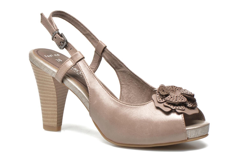 Sandales et nu-pieds Marco Tozzi Polinna 2 Beige vue détail/paire