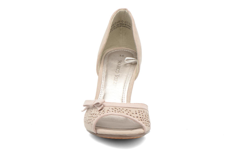 Escarpins Marco Tozzi Balonda Beige vue portées chaussures