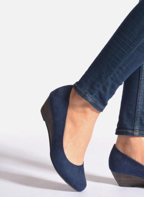 Zapatos de tacón Marco Tozzi Imit 2 Azul vista de abajo