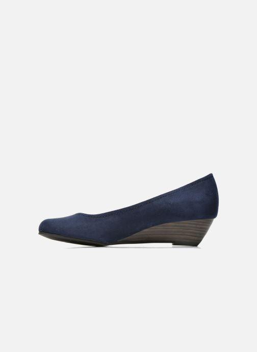 Zapatos de tacón Marco Tozzi Imit 2 Azul vista de frente