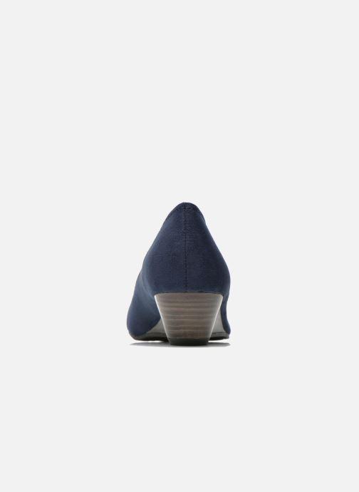 Escarpins Marco Tozzi Imit 2 Bleu vue droite