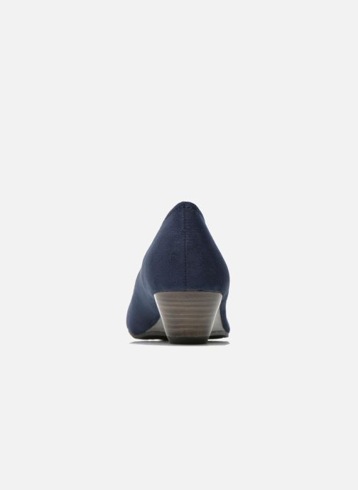 High heels Marco Tozzi Imit 2 Blue view from the right