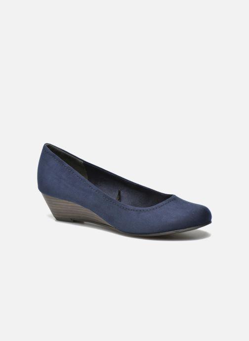 Zapatos de tacón Marco Tozzi Imit 2 Azul vista de detalle / par