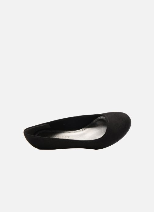 High heels Marco Tozzi Imit 2 Black view from the left