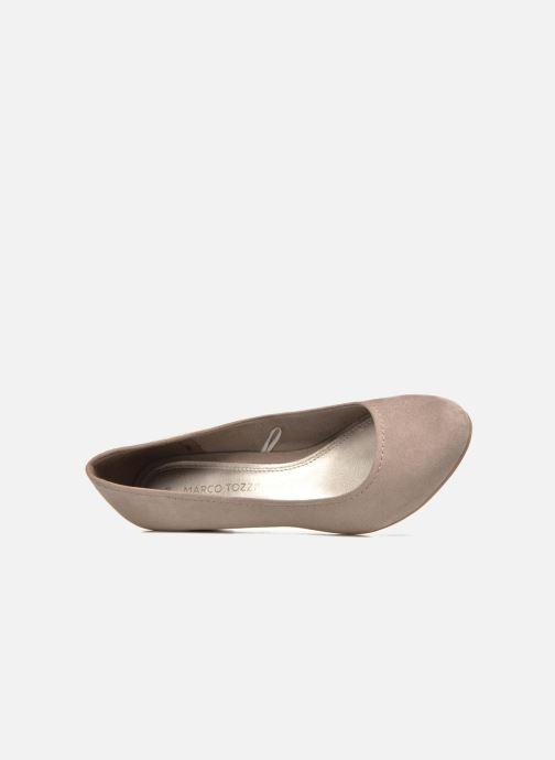 Zapatos de tacón Marco Tozzi Imit 2 Marrón vista lateral izquierda