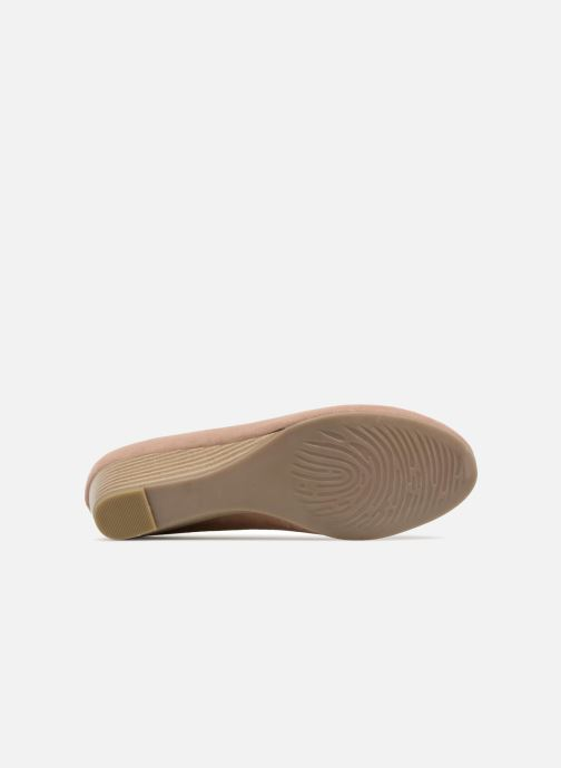 High heels Marco Tozzi Imit 2 Beige view from above