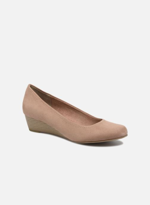 Zapatos de tacón Marco Tozzi Imit 2 Beige vista de detalle / par