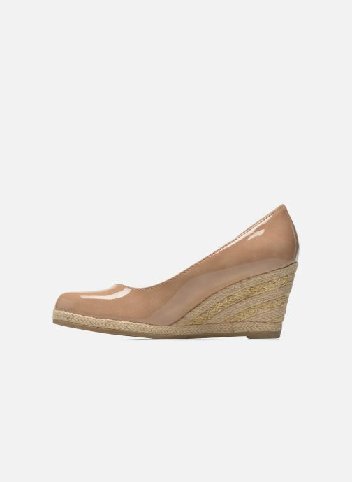 High heels Marco Tozzi Lanily Beige front view