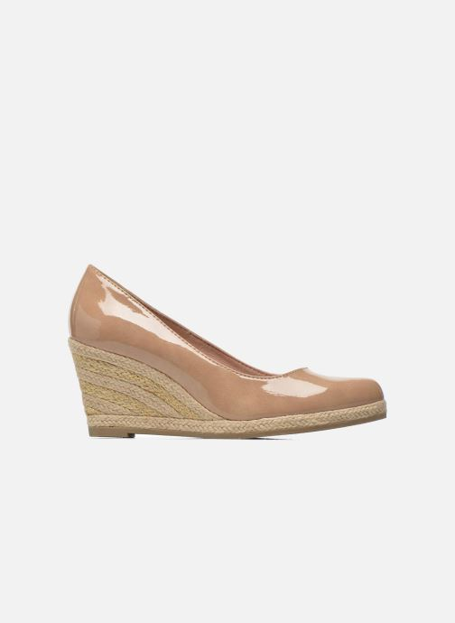 High heels Marco Tozzi Lanily Beige back view