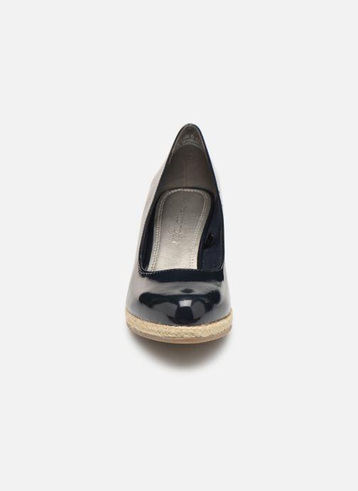 Escarpins Marco Tozzi Lanily Bleu vue portées chaussures