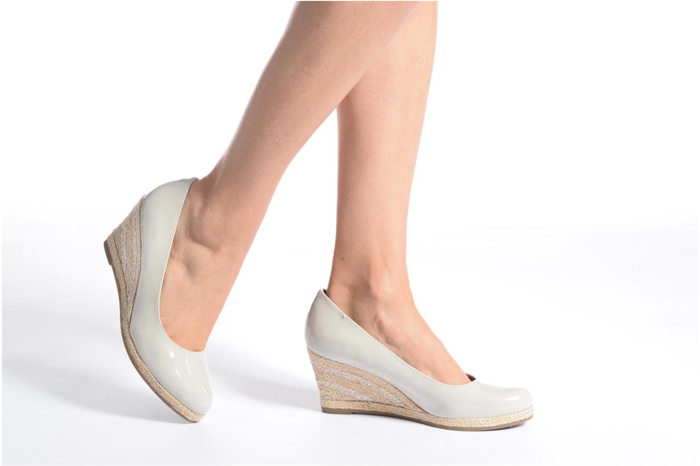 Zapatos de tacón Marco Tozzi Lanily Verde vista de abajo