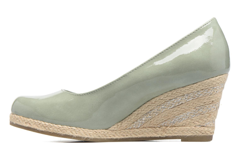 Zapatos de tacón Marco Tozzi Lanily Verde vista de frente
