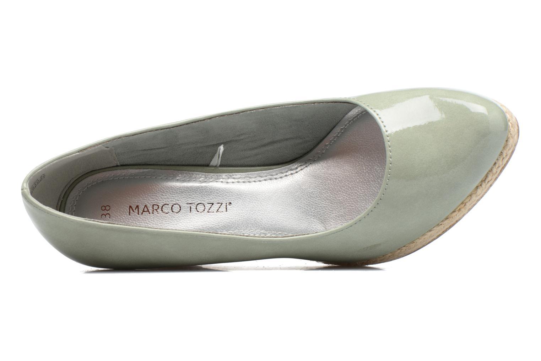 Zapatos de tacón Marco Tozzi Lanily Verde vista lateral izquierda