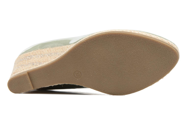 Zapatos de tacón Marco Tozzi Lanily Verde vista de arriba