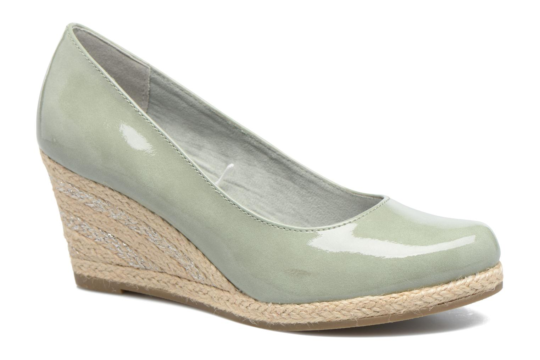 Zapatos de tacón Marco Tozzi Lanily Verde vista de detalle / par