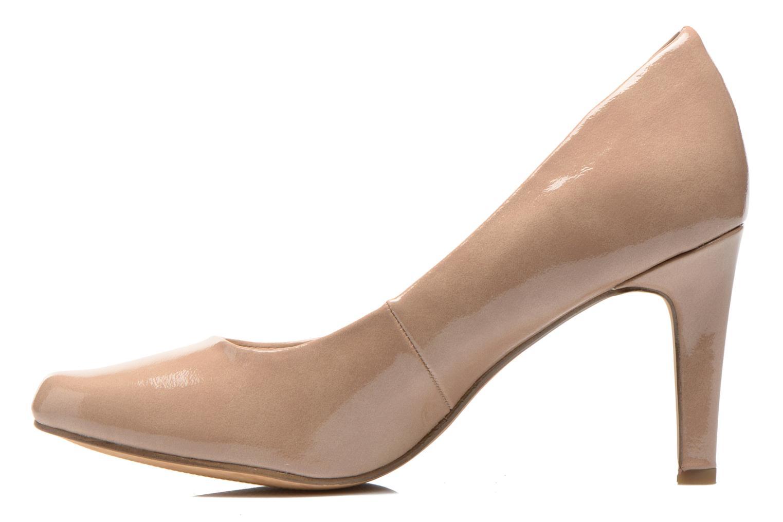 High heels Marco Tozzi Erodia Beige front view
