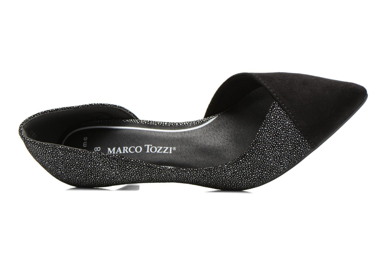 Escarpins Marco Tozzi Doseta Noir vue gauche