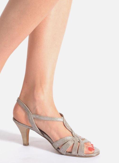Sandali e scarpe aperte Marco Tozzi Anafi Nero immagine dal basso