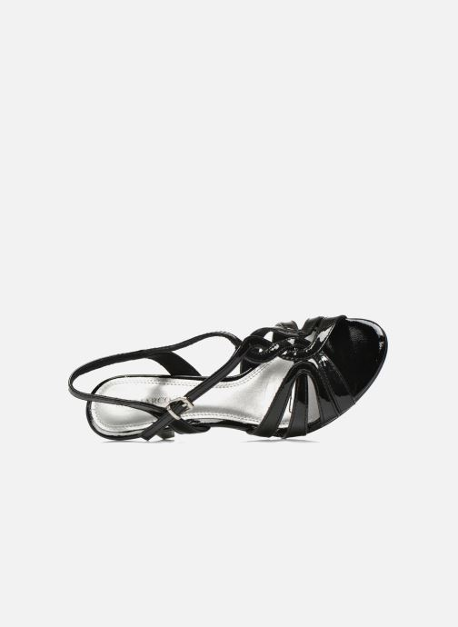 Sandali e scarpe aperte Marco Tozzi Anafi Nero immagine sinistra