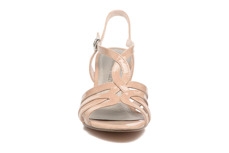 Sandales et nu-pieds Marco Tozzi Anafi Beige vue portées chaussures