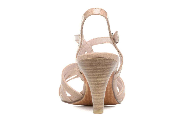 Sandales et nu-pieds Marco Tozzi Anafi Beige vue droite