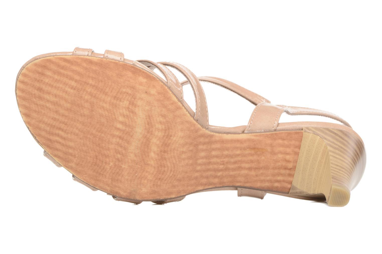 Sandales et nu-pieds Marco Tozzi Anafi Beige vue haut