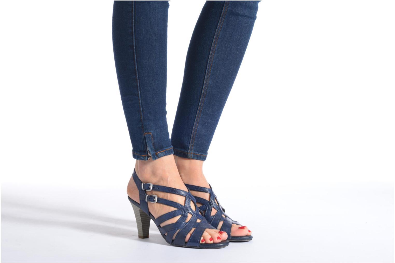 Sandales et nu-pieds Marco Tozzi Pluma Beige vue bas / vue portée sac