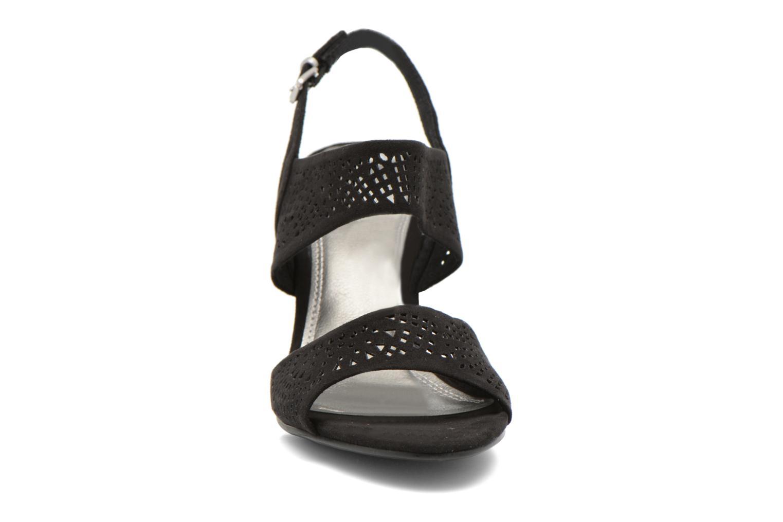 Sandales et nu-pieds Marco Tozzi Cavana Noir vue portées chaussures