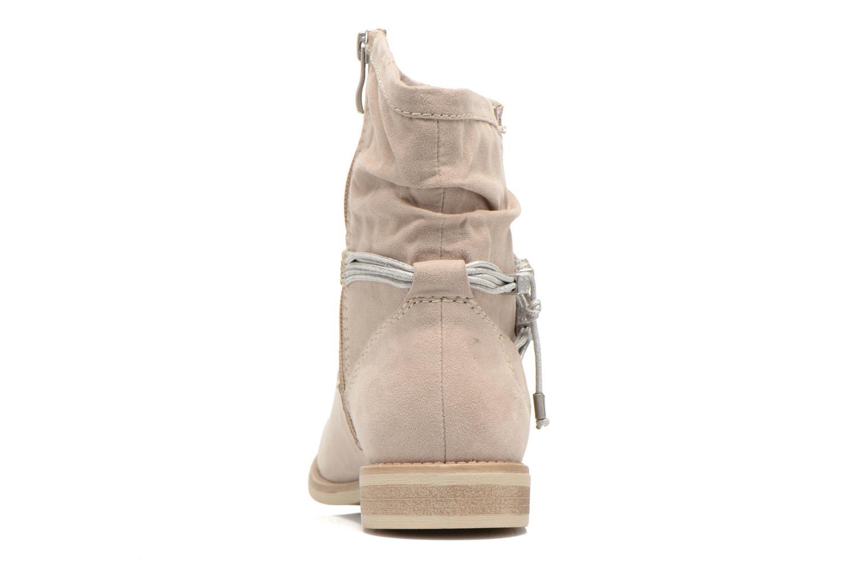 Bottines et boots Marco Tozzi Chloey 2 Beige vue droite