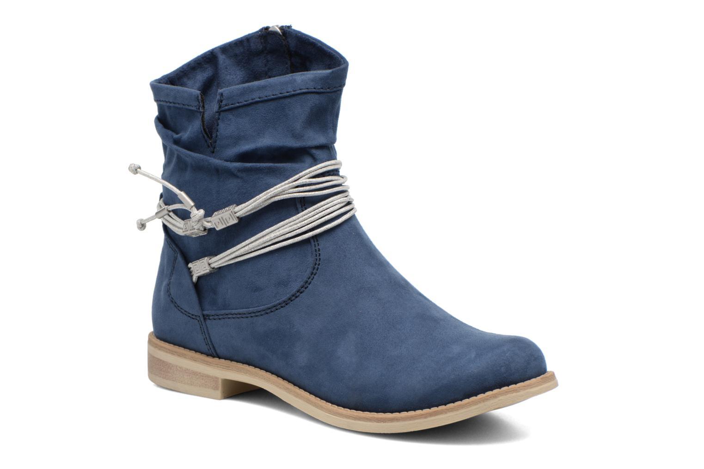 Bottines et boots Marco Tozzi Chloey 2 Bleu vue détail/paire