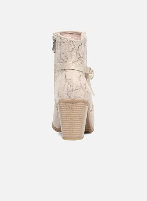 Bottines et boots Marco Tozzi Cipaka Beige vue droite