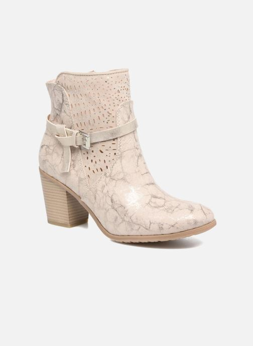 Bottines et boots Marco Tozzi Cipaka Beige vue détail/paire
