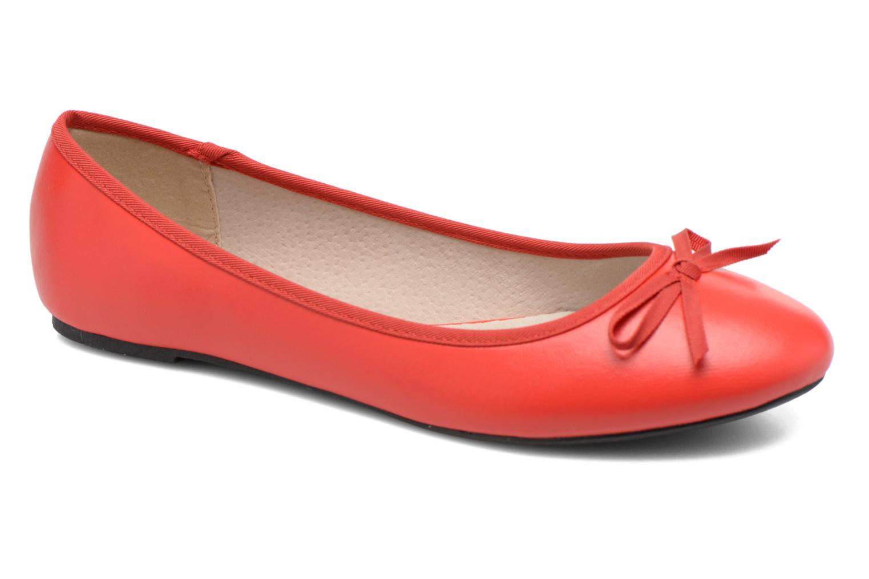 Ballerines Elizabeth Stuart Castel 851 Rouge vue détail/paire