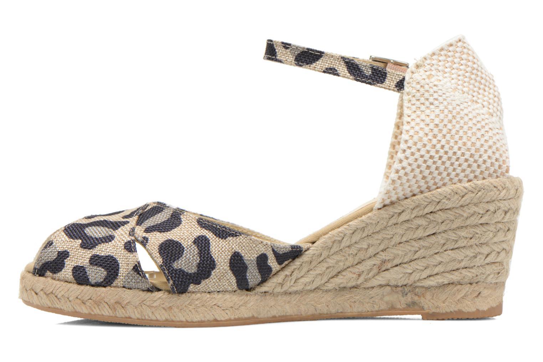Sandali e scarpe aperte Elizabeth Stuart Trento 667 Marrone immagine frontale